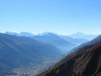 Panorama sulla corona dei 4.000 dall'alpeggio di Üerlichergale