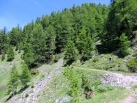 Sentiero da Gspon a Sädolti