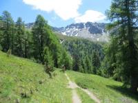 Sentiero da Sädolti per il Gebidumpass