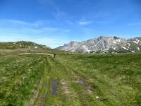Arrivo al Gebidumpass - Sullo sfondo lo Spitzhorli