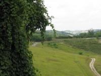 Lungo la greenway in direzione Settime