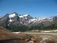 Nei pressi del lago Ciarcierio - panorama