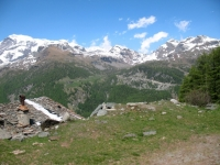 Salita all'Alpe di Nana inferiore - panorama