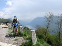 Salita al Monte Brè, particolare su Lago di Lugano