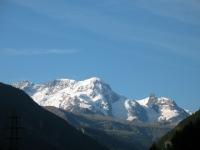 Breithorn e piccolo Cervino da Randa - mattino