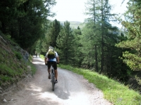 Da Sunegga verso Findeln ed il lago Mosjesee