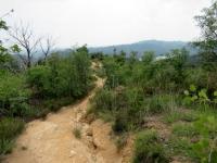 Il sentiero M41 che porta al lago delle Piane
