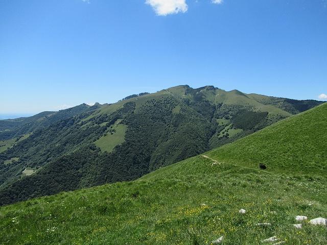 Panorama sul Monte Generoso  da Mater (vista ad nord)