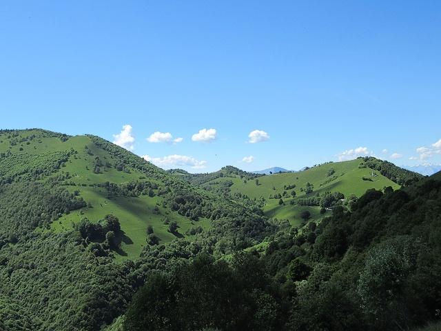 Panorama sul territorio che circonda Orimento