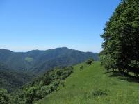 Monte Bisbino dalla sommità del Poncione di Cabbio