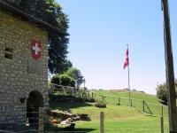 L'Alpe Bonello nei pressi dell'omonimo passo a confine tra Italia e Svizzera