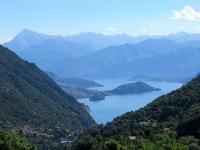 Panorama Lago di Como - Isola Comacina