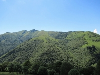Il versante comasco del Monte Generoso