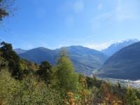 Panorama su Gebidumpass e massiccio del Mischabel