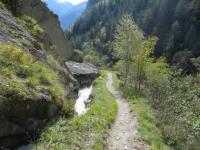 Sentiero nella valle di Baltschied