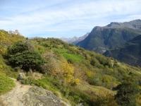 Panorama lungo il sentiero per Oberi Brich