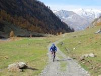 Val di Carassino, superata l'Alpe di Cassimoi