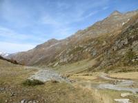 Parte finale della Val di Carassino, ultimi metri di salita