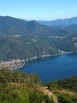 Lago Maggiore dal Monte Carza