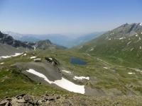 Il Lago Longet visto dal Colle Belvedere