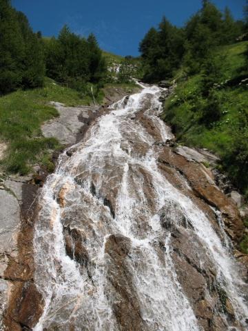 In direzione del vallone di Chavanne - particolare