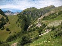 In direzione del vallone di Chavanne - panorama