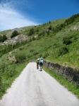 In direzione del vallone di Chavanne