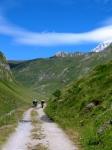 Risalita al Col Chavanne