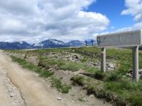 In prossimità del colle situato nei pressi del Monte Genevris