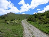 Nelle vicinanze del Colle Blegier