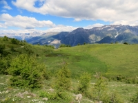Nelle vicinanze del Colle Blegier, panorama