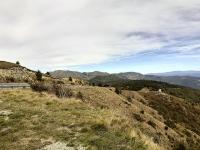 Panorama in prossimità di Colla di Praglia
