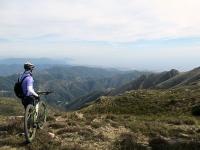 Colle Gandolfi - Panorama sul golfo di Genova