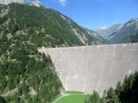 La diga del Lago del Sambuco