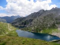 Panorama sul Lago Superiore e sul Lago di Sassolo