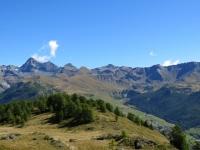La Conca di Chamois vista dall'Alpe di Gilliarey