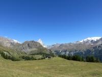 In direzione dell'Alpe Cortina