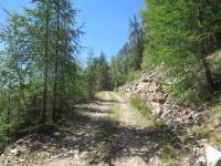 Dall'Alpe Forcola in direzione dell'Alpe Poverzone