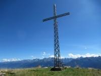 La croce  in ferro dell'Alpe Poverzone