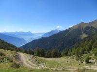 Panorama dall'Alpe Morscenzo