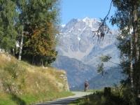 In direzione dell'Alpe Forcola - Panorama
