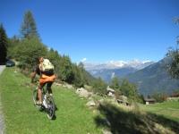 Alpe Forcola - Panorama sul massiccio del Bernina (4.050)