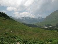 Discesa verso l'Alpe Gana