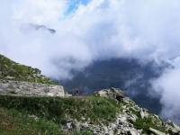 La sterrata per l'Alpe Tsomioy - Particolare
