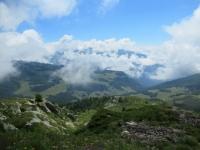 Panorama dall'Alpe Tsomioy