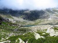 Lago Tzan visto dall'omonimo bivacco