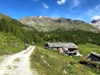 In direzione dell'Alpe Champtorne (Foto concessa da Black Devil)
