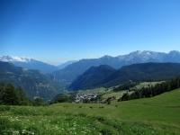Panorama su Torgnon
