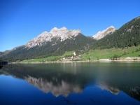 Sufers e l'attiguo lago