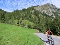 Zwischenbergtal, sullo sfondo il rilievo del Seehorn